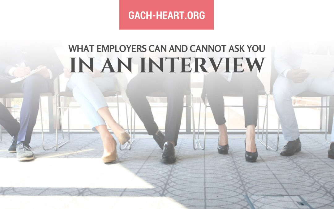 What Employers Can and Cannot Ask You In an Interview